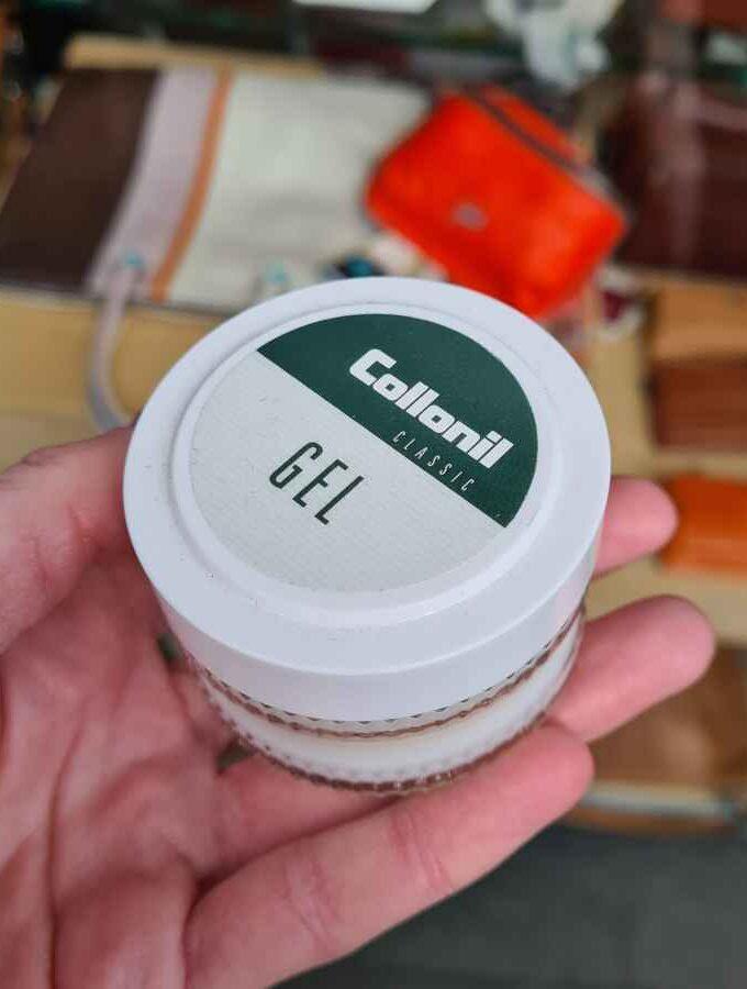 Collonil kleurloze gel leer 50ml