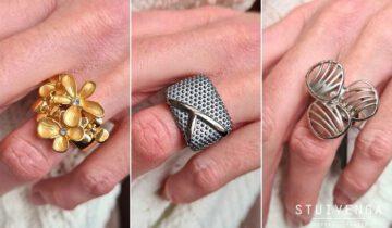 Ring met elastiek: dat past altijd!