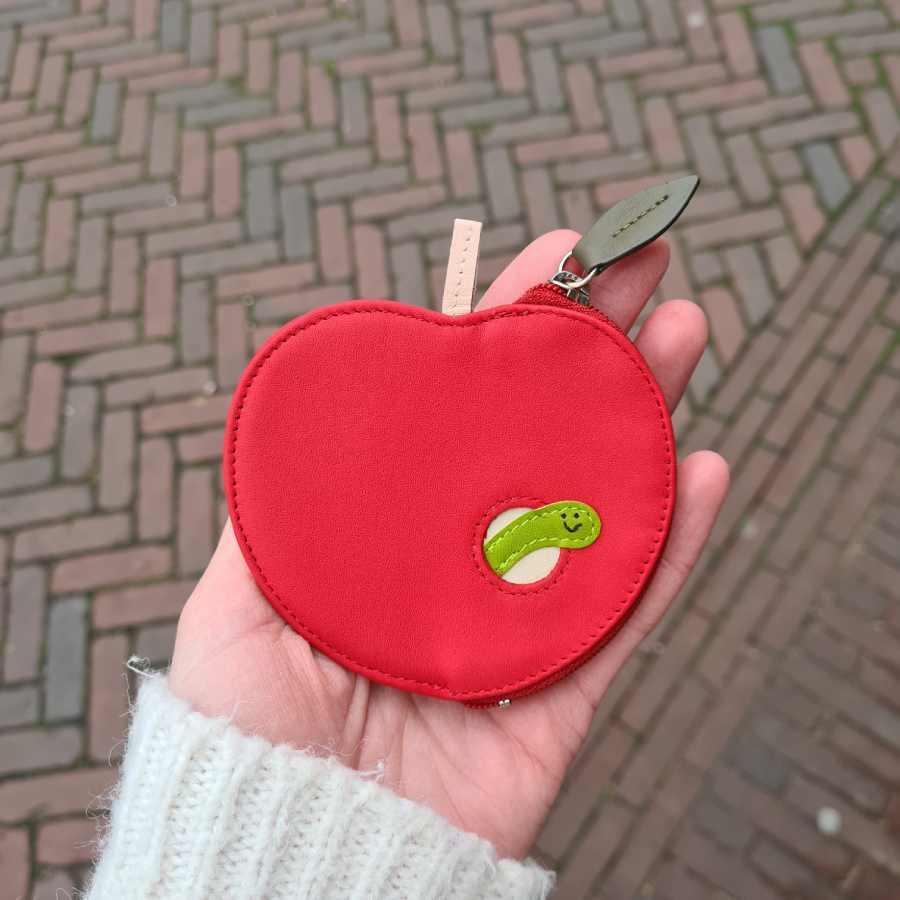 Appel portemonnee rups mywalit