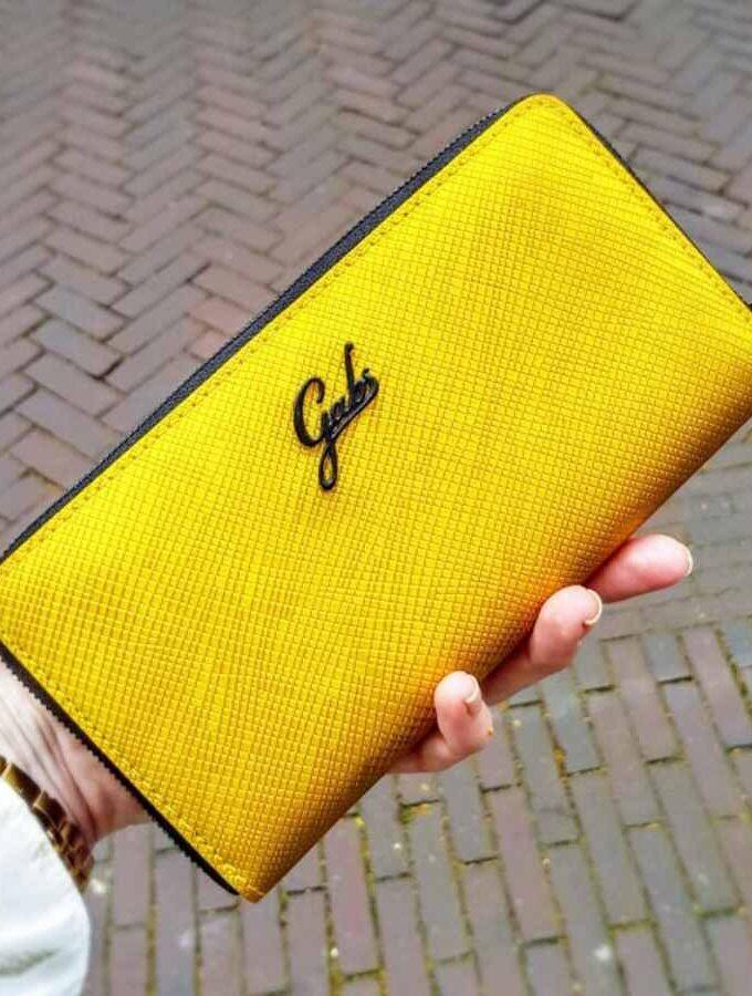 gabs goudkleur portemonnee