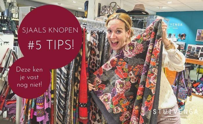 sjaals knopen 5 nieuwe manieren