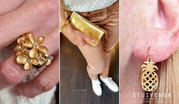 Kerst Trend : Goudkleurige Accessoires