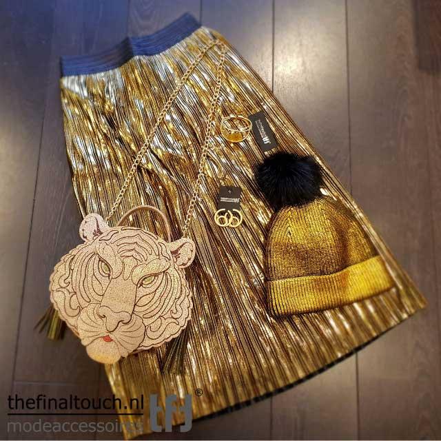 gouden rok