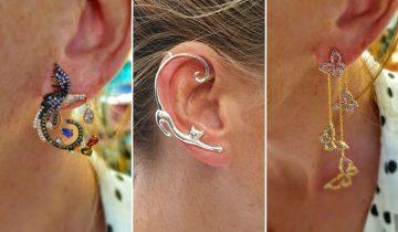 6x Opvallende oorbellen