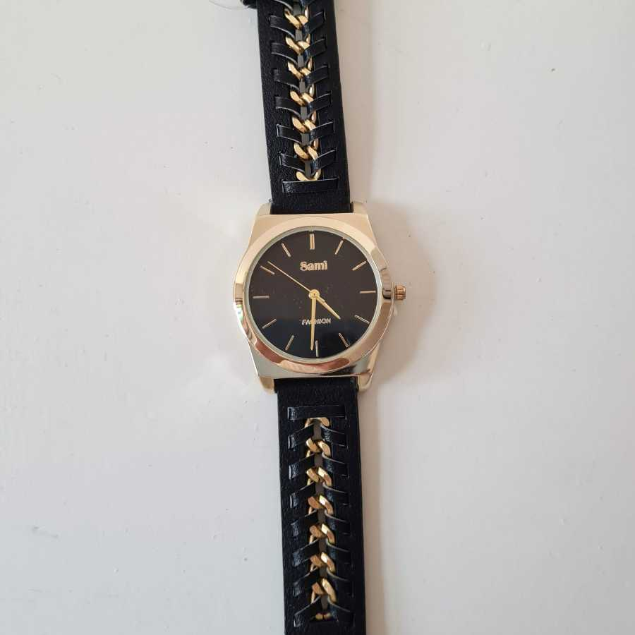 Horloge zwart goud dames