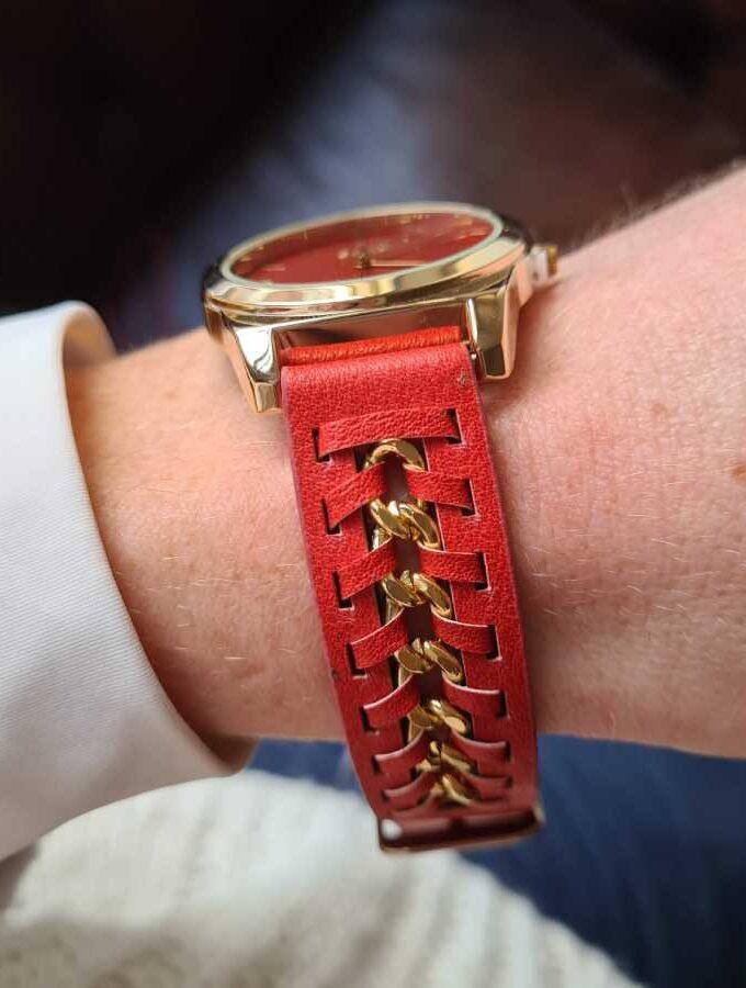 horloge koraal goud