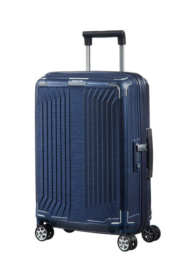 Samsonite Lite-Box Spinner 55cm Deep Blue