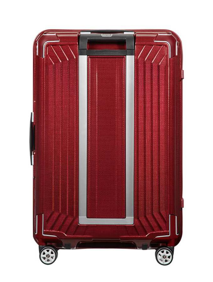 Samsonite Lite-Box Spinner 69cm Deep Red achterkant