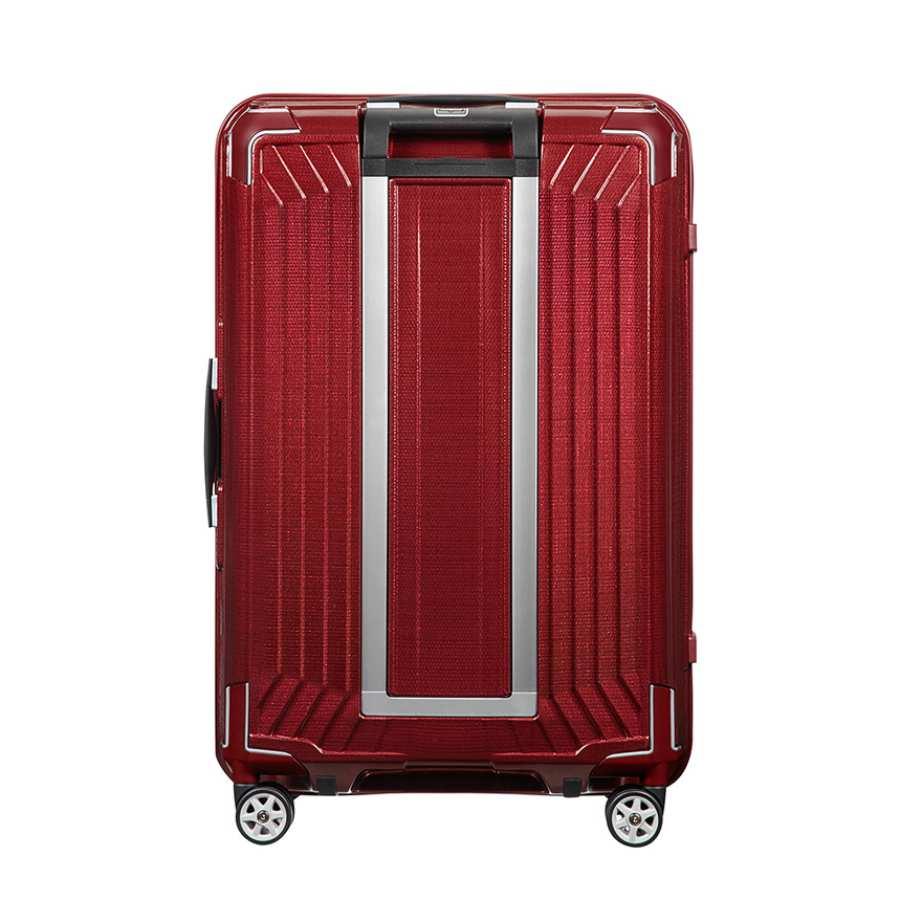 Samsonite Lite-Box Spinner 69cm Deep Red achterkant