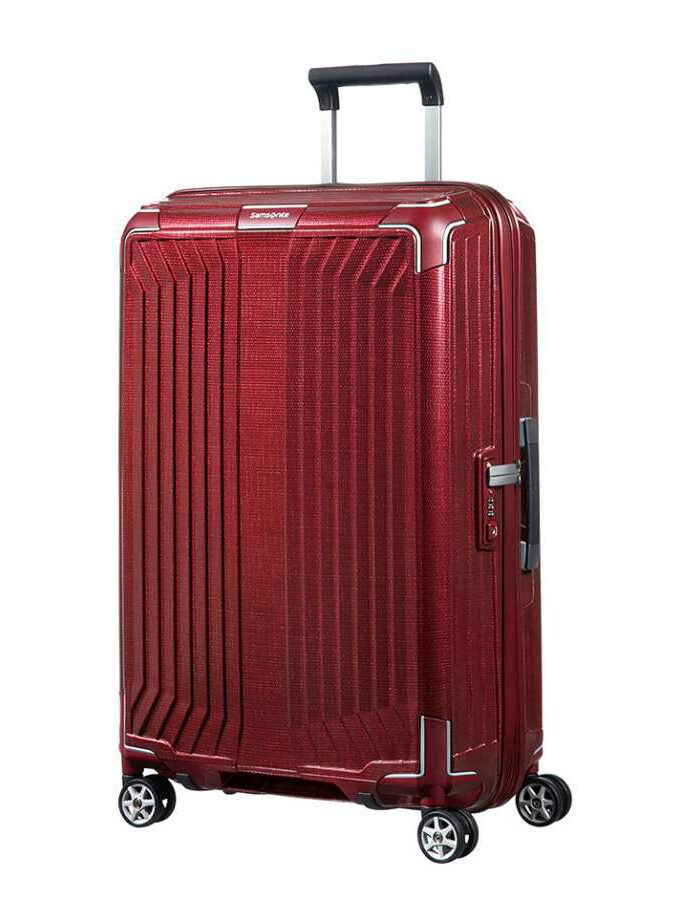 Samsonite Lite-Box Spinner 69cm Deep Red koffer
