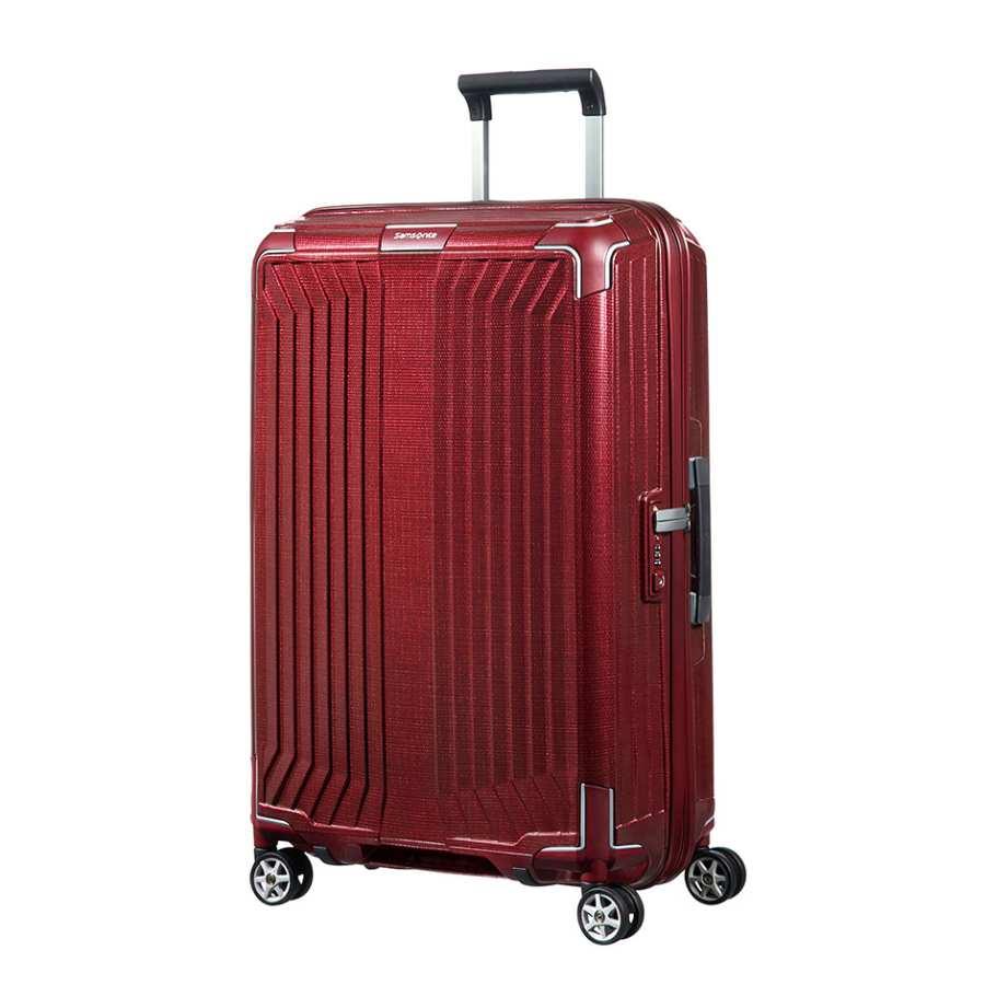 Samsonite Lite-Box Spinner 69cm Deep Red koffer