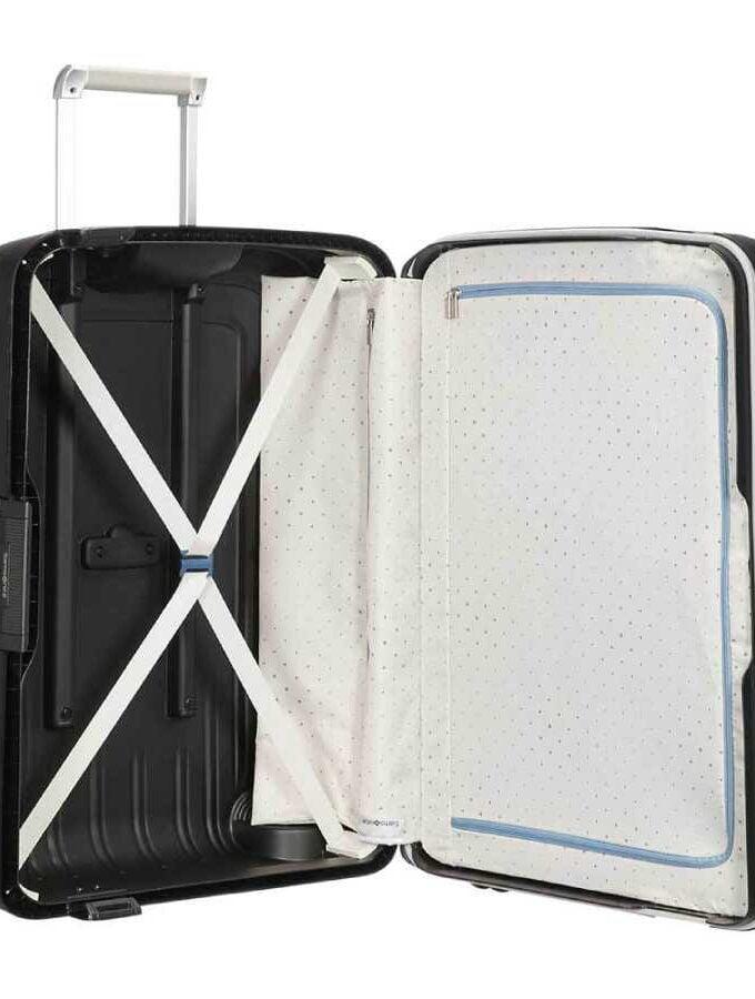 samsonite zwart koffer Scure binnenkant