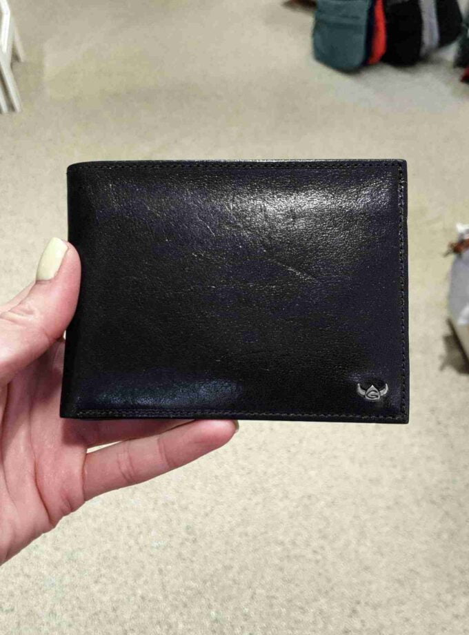 Golden Head Billfold 1154 05 8 Schwarz