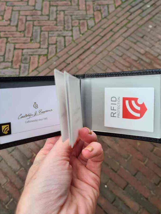 Castelijn en Beerens creditcard etui zwart