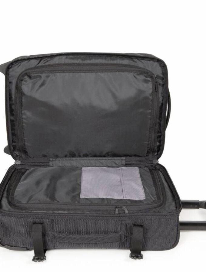 Eastpak Tranverz S CNNT Black handbagage binnenkant