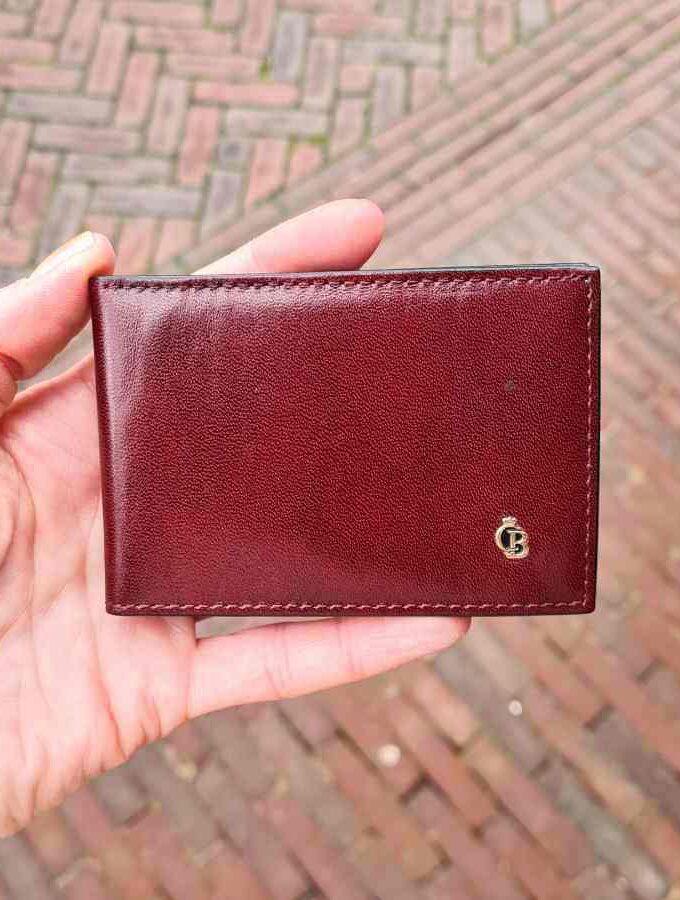 castelijn creditcardmapje rood