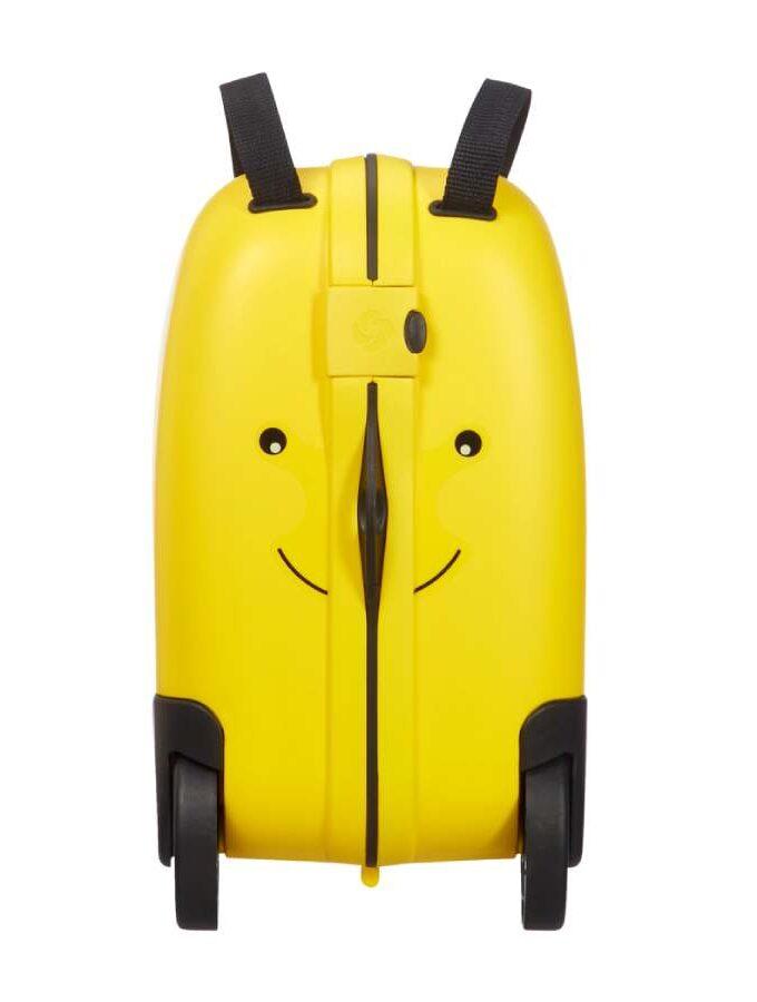 Samsonite Dream Rider kindertrolley met gele bij