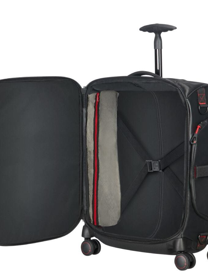 Samsonite Paradiver Light Spinner Duffle 55 zwart