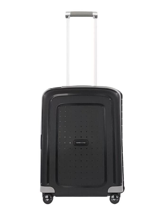 Samsonite S'Cure Spinner 55 Black handbagage