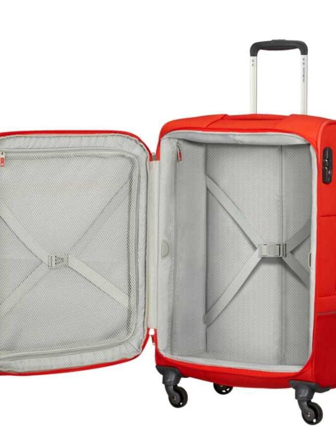 samsonite koffer medium rood base boost