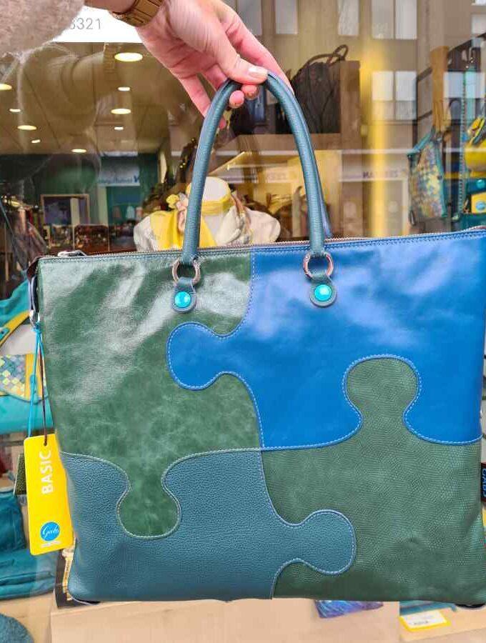 gabs puzzle groen blauw