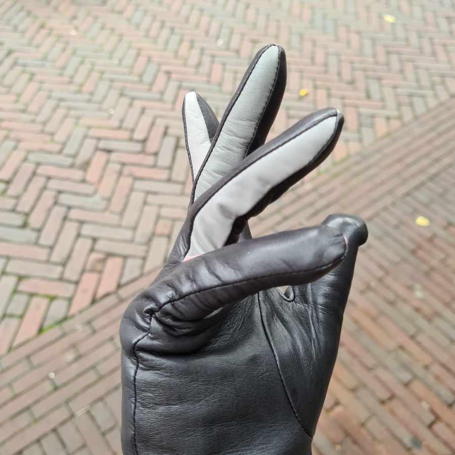 Grijze handschoen MyWalit