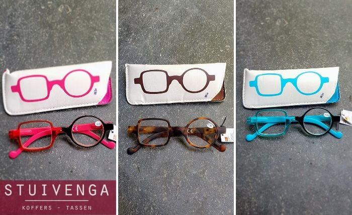 leesbrillen twe everschillende glazen