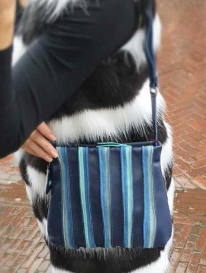 mywalit blauw schoudertas