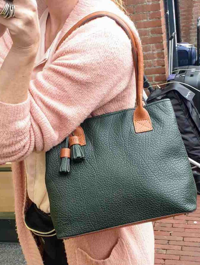 Berba Chamonix Shopper British Green