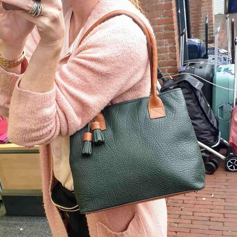 Berba Chamonix Shopper British Green
