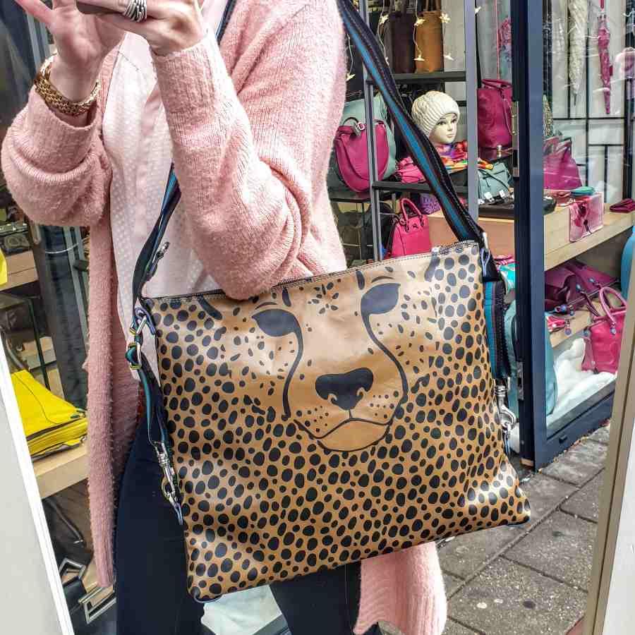 Gabs G-Urban Large rugtas met luipaard