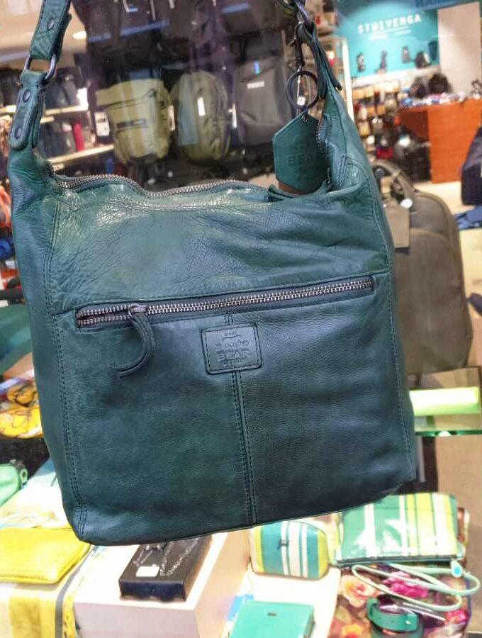 Bear Design buideltas met voorvak in groen achterkant