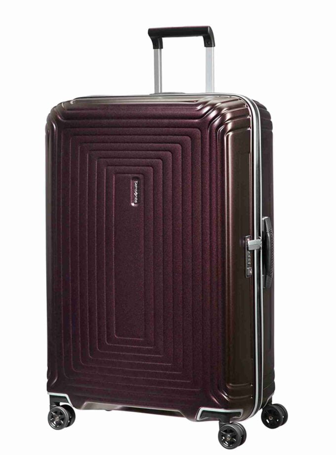 Samsonite Neopulse DLX Spinner 75cm Matte Port