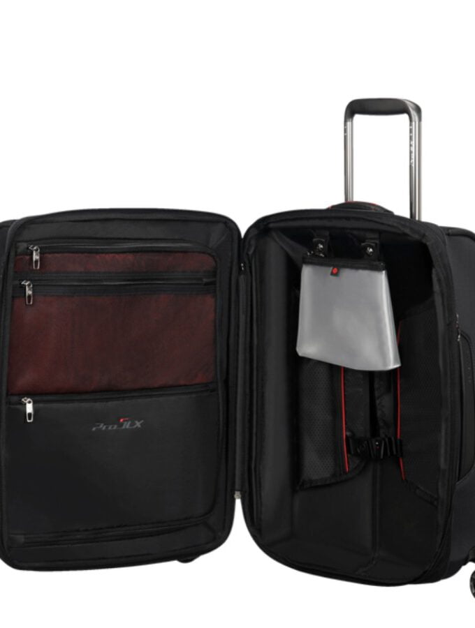 Samsonite Pro-DLX 5 Spinner 55 Exp Black inside