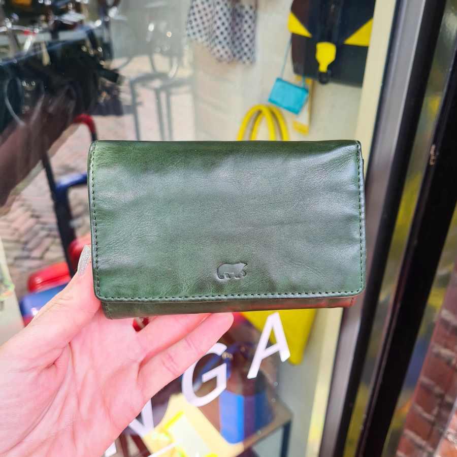groene portemonnee beardesign