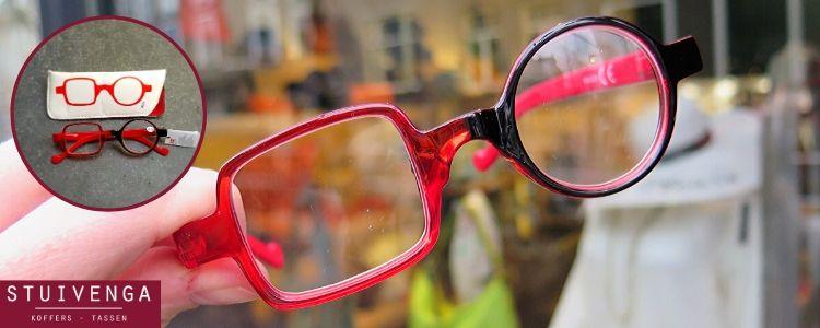 Leesbril twee verschillende glazen