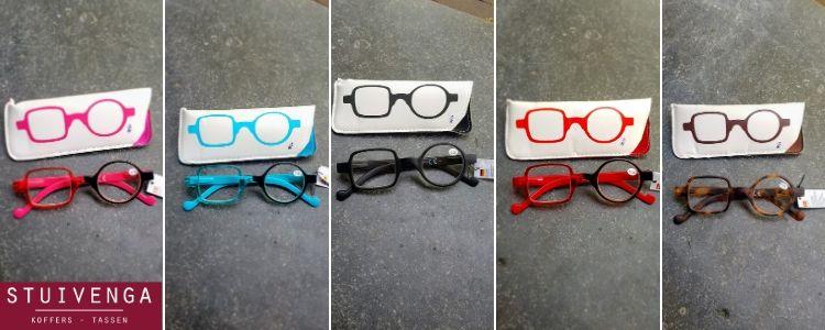 Leesbril vierkant en rond glas