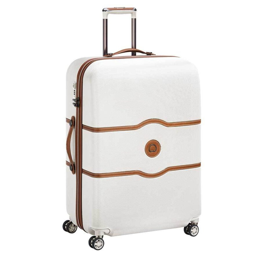 Delsey Chatelet Air 77cm 4DB Trolley Angora wit