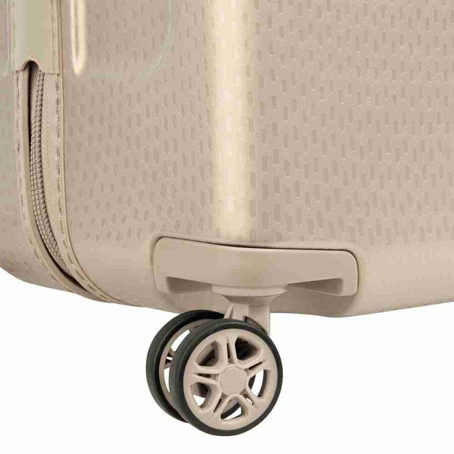 Delsey Turenne 55cm Slim 4 Wheels Cabin Trolley Beige