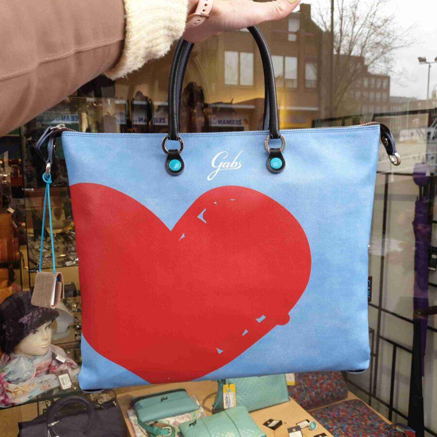 Gabs G3 PLUS Large SAFFIANO X1350 rood hart