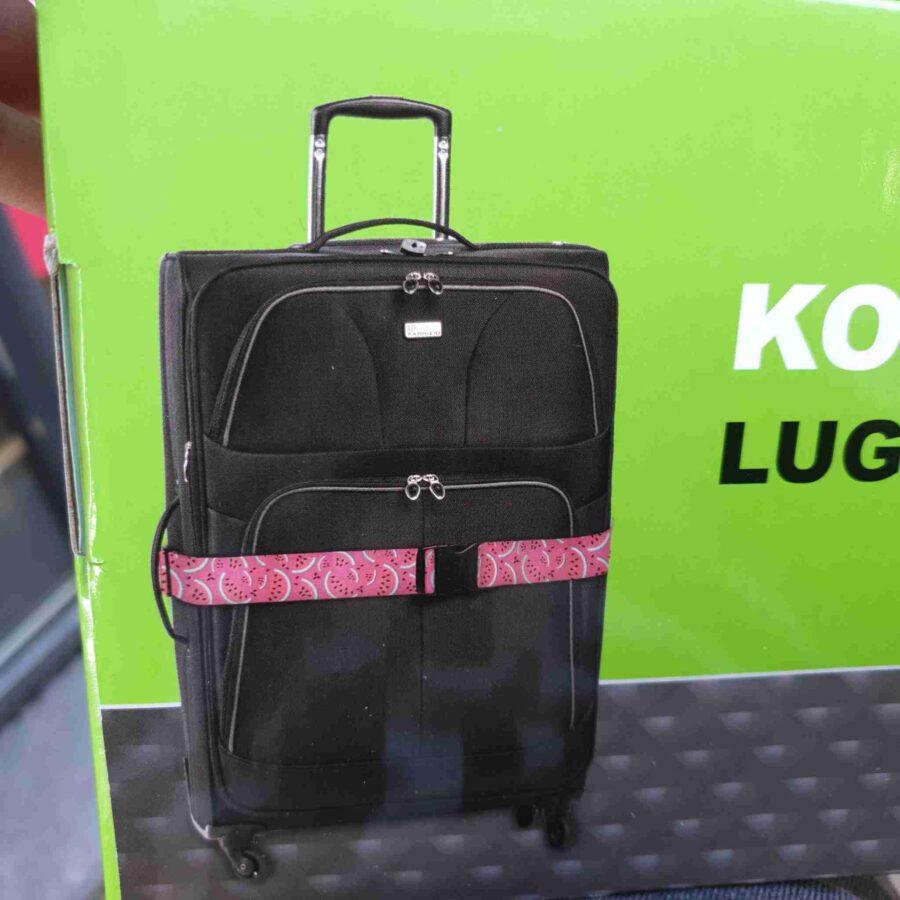 Kofferband voor koffer of reistas in leuke prints