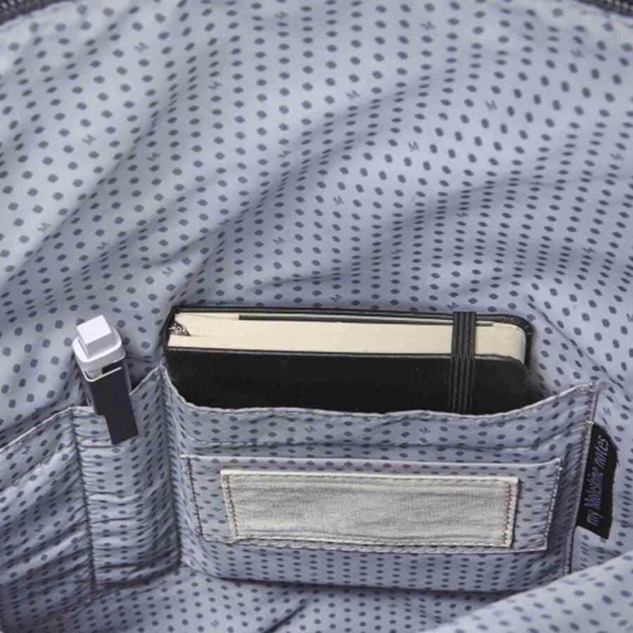 Moleskine Classic Device Bag Vertical Backpack Mud Grey