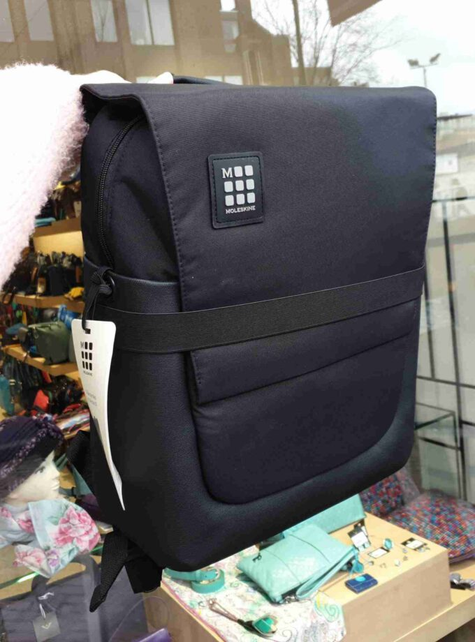 Moleskine backpack ID black