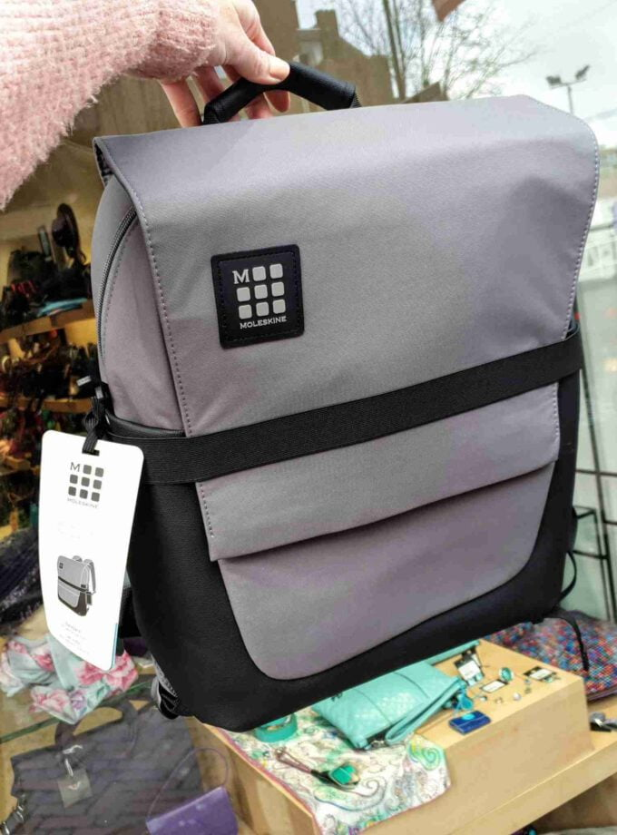 Moleskine ID Backpack Slate Grey 15 inch