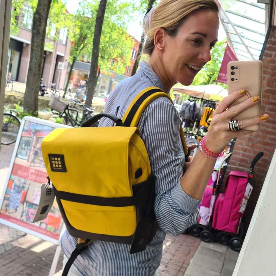 Moleskine ID Small Backpack Amber 13 inch