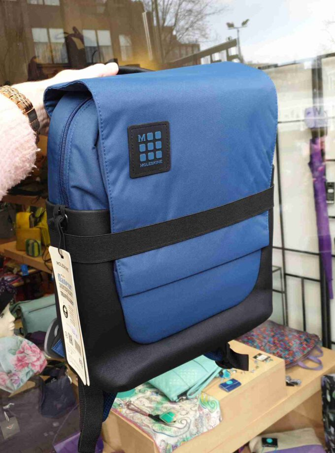 Moleskine ID Small Backpack Boreal Blue