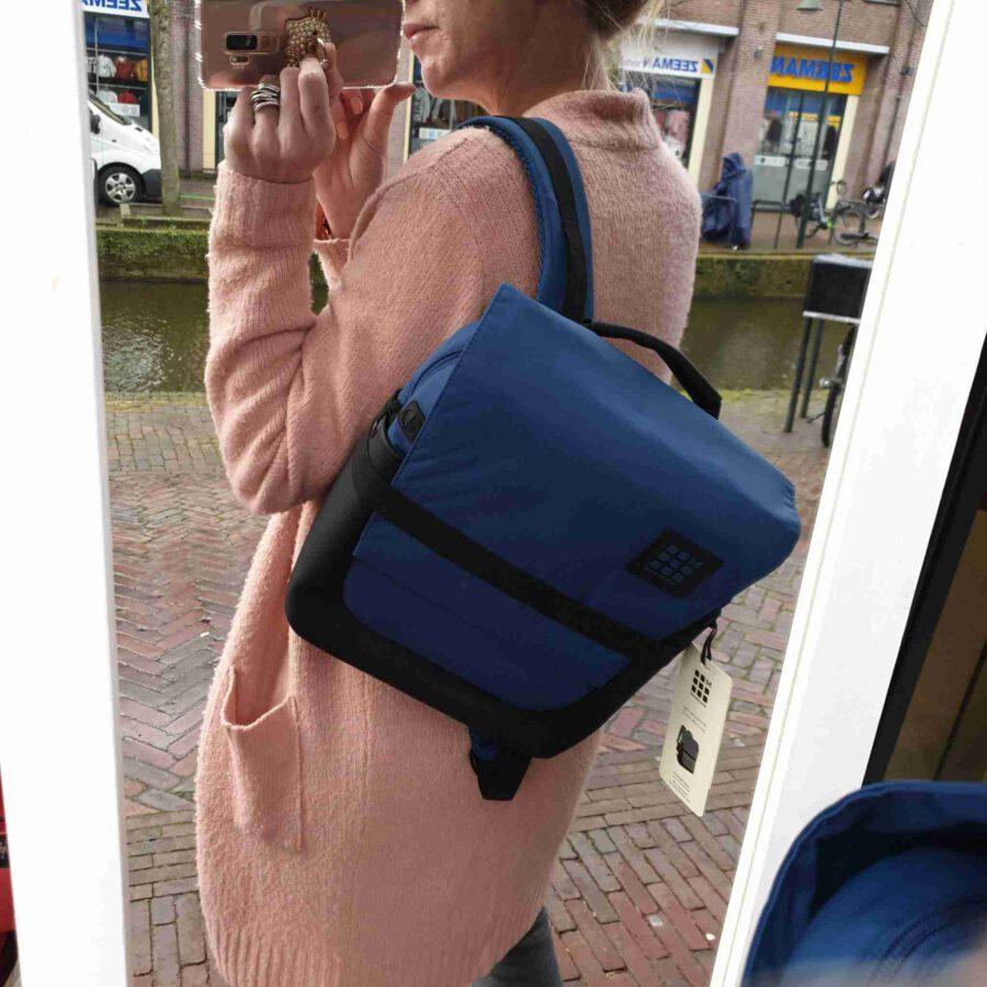 Moleskine ID Small Backpack Boreal Blue