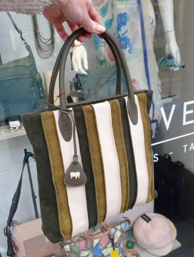 MyWalit Laguna Medium Shopper olijfgroen modisch