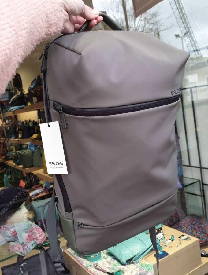 Salzen SAVVY Daypack Olive Grey rainproof