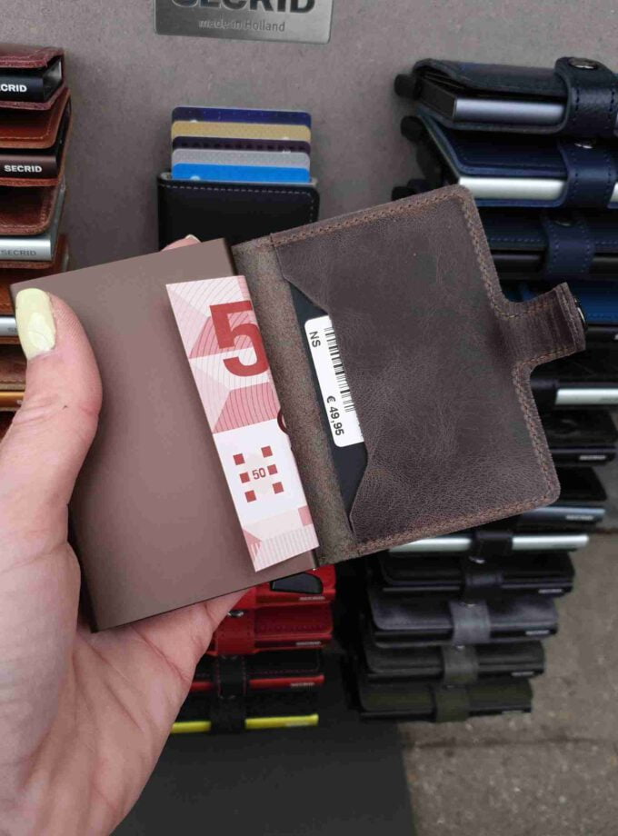 Secrid Miniwallet MV-chocolate Vintage